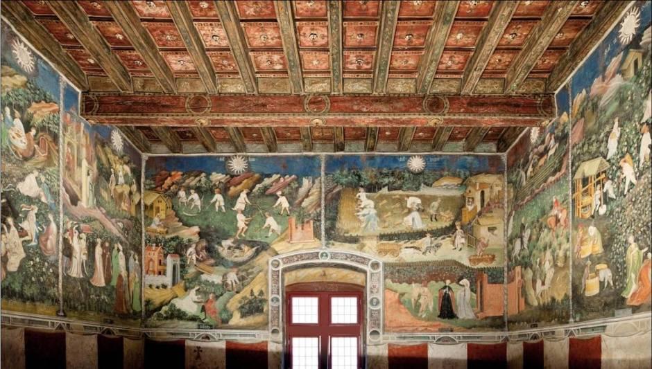 Castelos italianos abertos para visitação: Castelo del Buonconsiglio, Trento, Trentino-Alto Ádige.