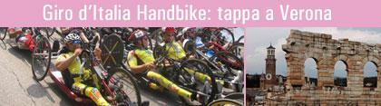 Giro d'Italia di HandBike - tappa di Verona