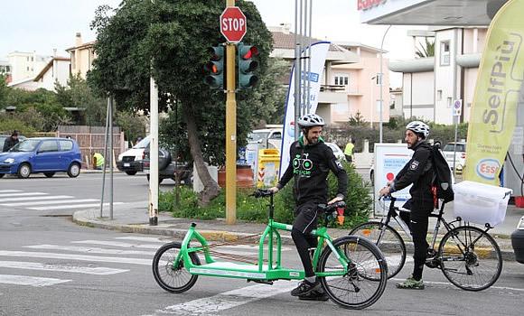 Bicycle Xpress - il pony express a Cagliari