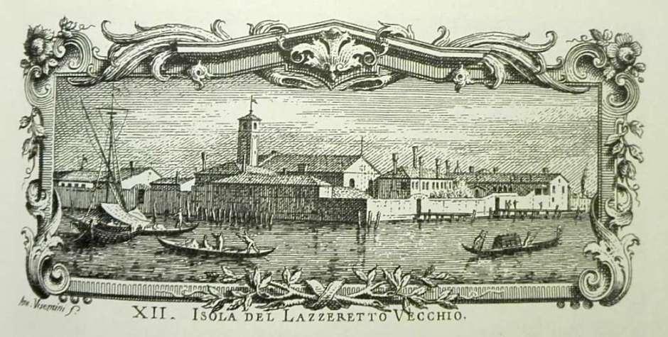 Invenção da quarentena em Veneza