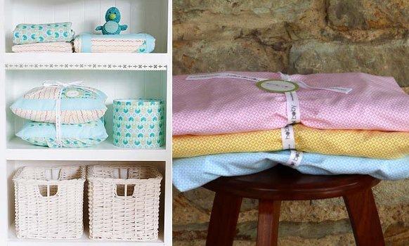 material textil pentru lenjerie de pat bebe