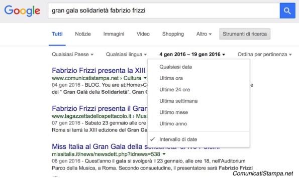 Come fare una rassegna stampa online con Google