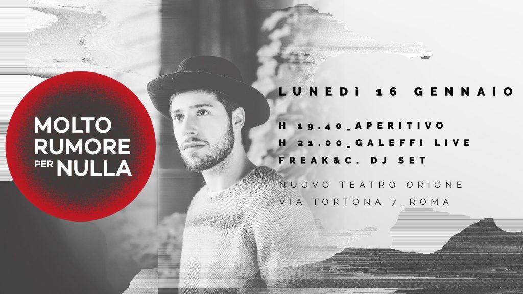 Nuovo Teatro Orione: Galeffi apre la stagione di