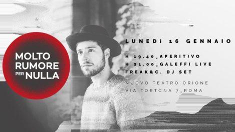 """Eventi live a Roma, """"Molto rumore per nulla"""" al Nuovo Teatro Orione di Roma"""