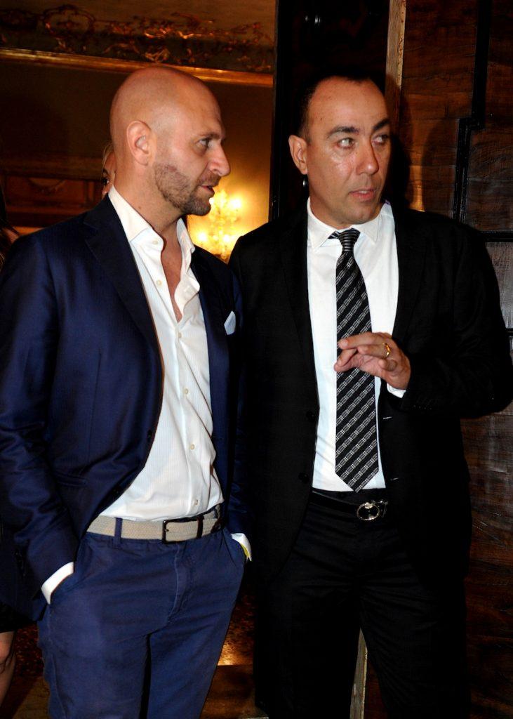 Alla Biennale di Venezia Lorenzo Quinn ospita Cesare Catania