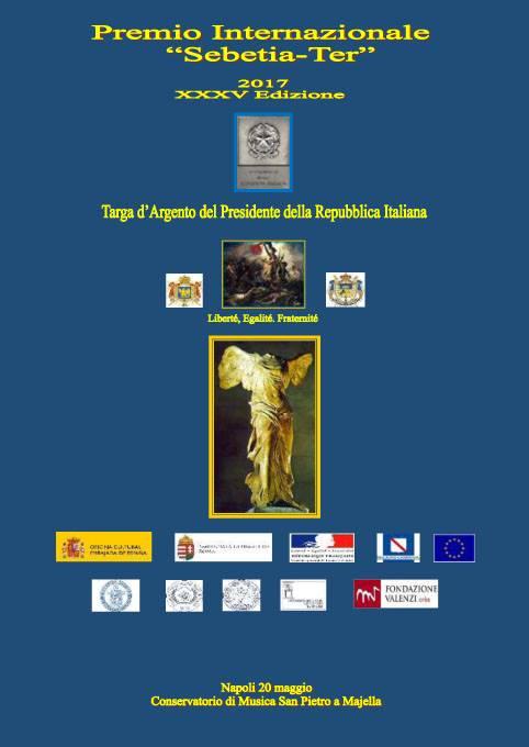 Premio Internazionale Sebetia-Ter: il 20 maggio cerimonia di consegna al Conservatorio di Napoli