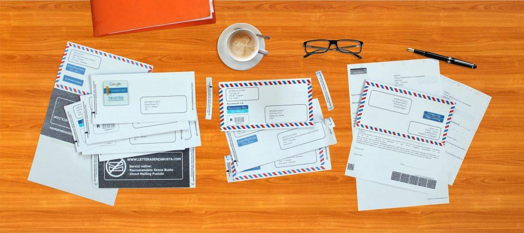 Raccomandate e prioritarie, da oggi si inviano con l'App di LetteraSenzaBusta