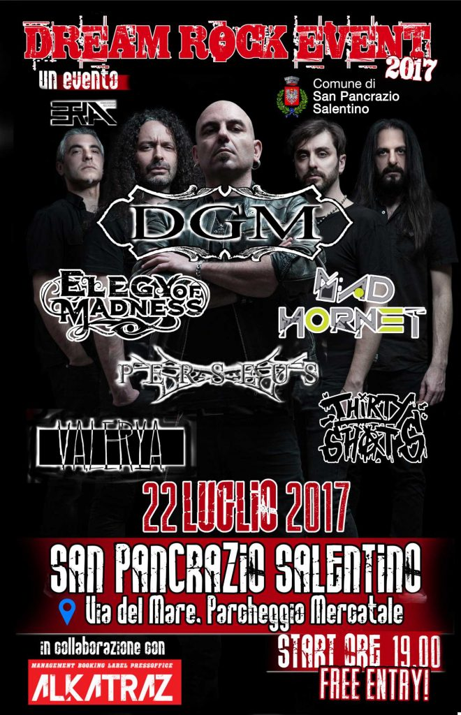 Dream Rock Event 2017, San Pancrazio Salentino, 22 luglio 2017