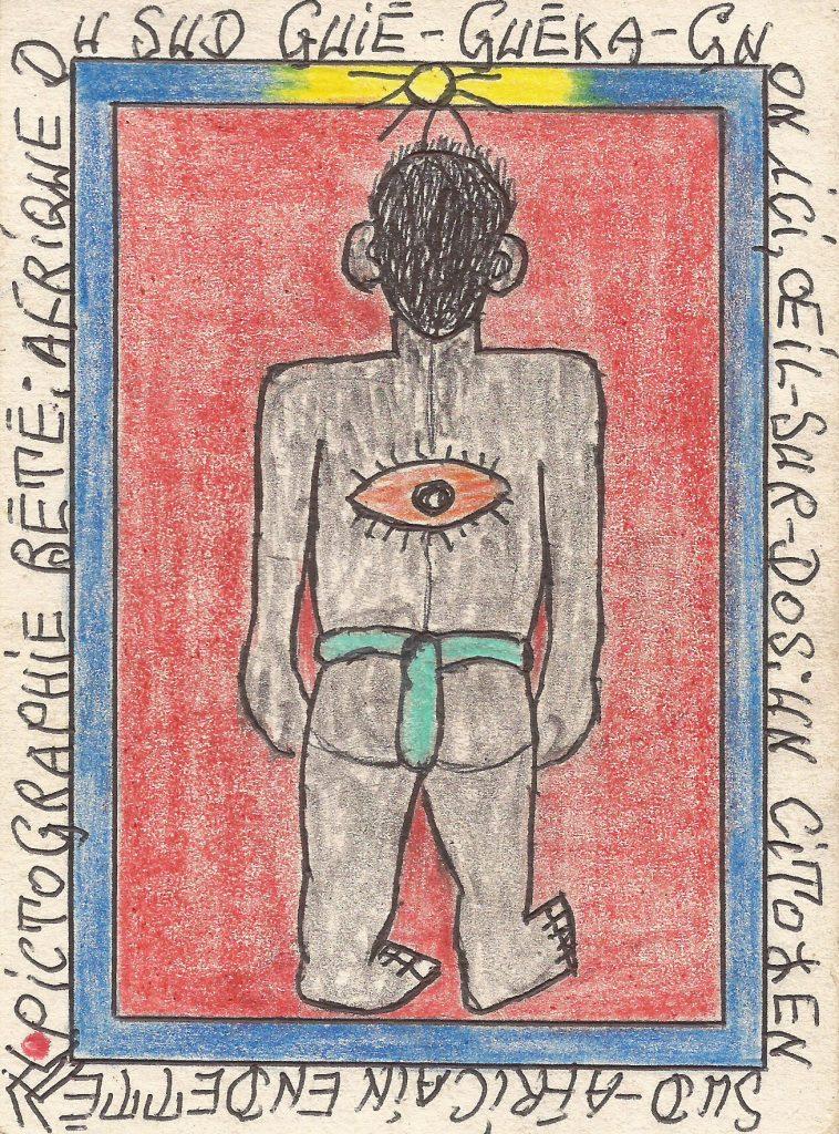 Arte, a Firenze il genio africano Frédéric Bruly Bouabré nella mostra 'Connaissance du Monde'
