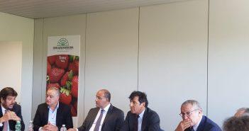 Incontro tra la delegazione argentina e il CAR, Centro Agroalimentare Roma