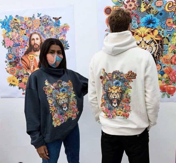 spazzuk pop flowers capsule collection