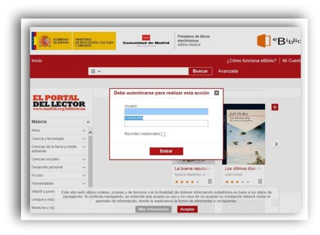 Plataforma externa en el cual está alojado el contenido digital