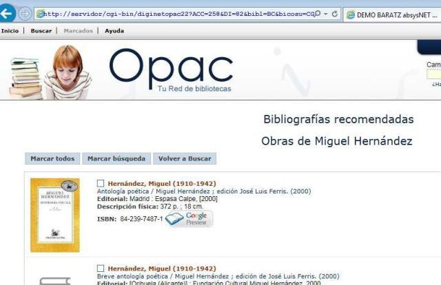 Bibliografías asociadas a biblioteca / sucursal