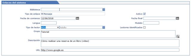 Ejemplo 2 enlace de sistema AbsysNet biblioteca