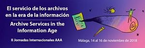 II Jornadas Internacionales de la Asociacion de Archiveros de Andalucia
