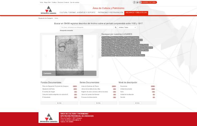MediaSearch Archivo de la Diputación de Zaragoza