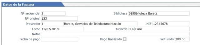 Modificar los datos de la factura en AbsysNet 2