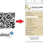 Acceso con código QR al MOPAC de la Biblioteca Francisco Umbral