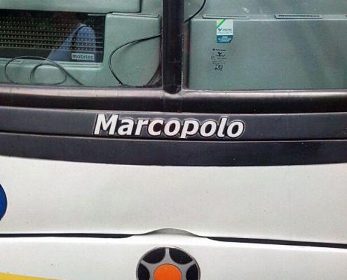 Autobuses Marcopolo en Costa Rica