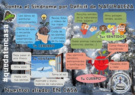 combatir Deficit Naturaleza REEFNAT