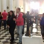 Retiro de Fuego para padres y catequistas, en Santa Fe