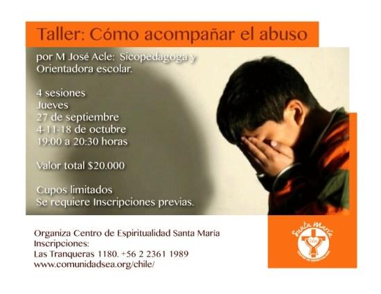 Taller: Cómo acompañar el abuso @ Vitacura | Región Metropolitana | Chile
