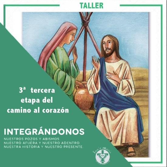 """Taller """"Integrándonos"""" @ Centro de Espiritualidad Santa María - Chile"""
