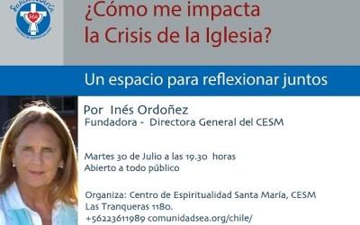 ¡Inés Ordoñez nos visitará!