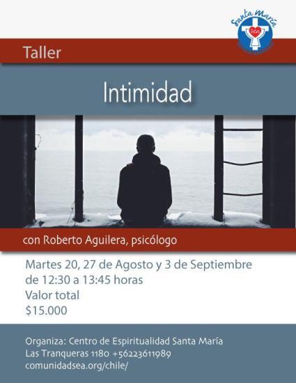 """Taller """"Intimidad"""""""