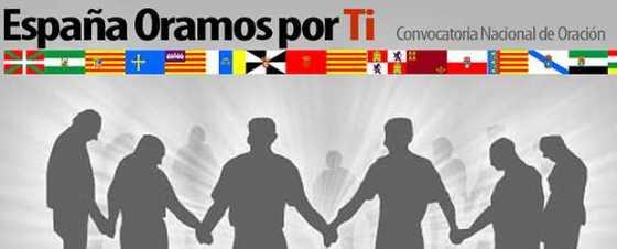 España oramos por ti - cabecera de convocatoria