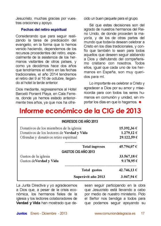 Página 17 Juntos 2013
