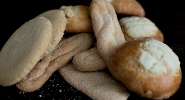 Traditional sweet breads of Guatemala. Photo: Santiago Billy/Comvite