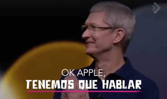 Video deddicado a Apple