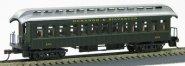 HO Old Time 18801920 Coach Durango & Silverton Pullman Green