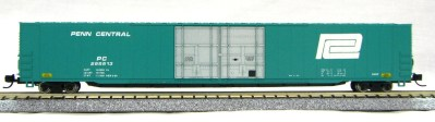 N Scale 4 Door 85 Ft Hi-Cube, Penn Central (with MT couplers) 1-014662