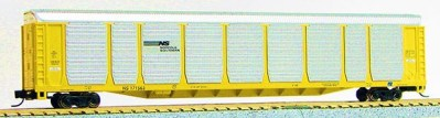 N Scale Tri-Level Auto Carrier, Norfolk-Southern (MT couplers) 1-14701