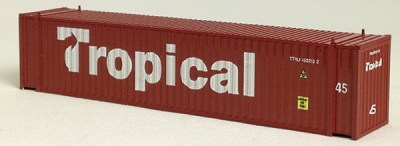 N 45 FT Corr Container TROPICAL Brown (02)