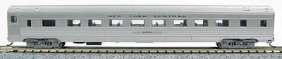N Budd New York Central (Silver car)