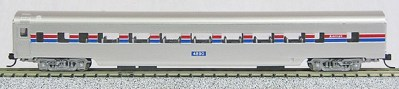 N Con-Cor Smooth Side Passenger Cars Amtrak (Phase 2) (1-40029)