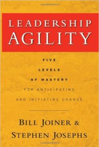 "Book cover ""Leadership agility"""