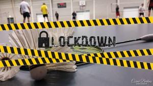 Lockdown badminton