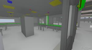 3D-model van technische installaties