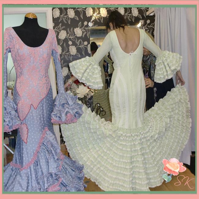 Prueba de vestuario en Viviana Iorio para We Love Flamenco