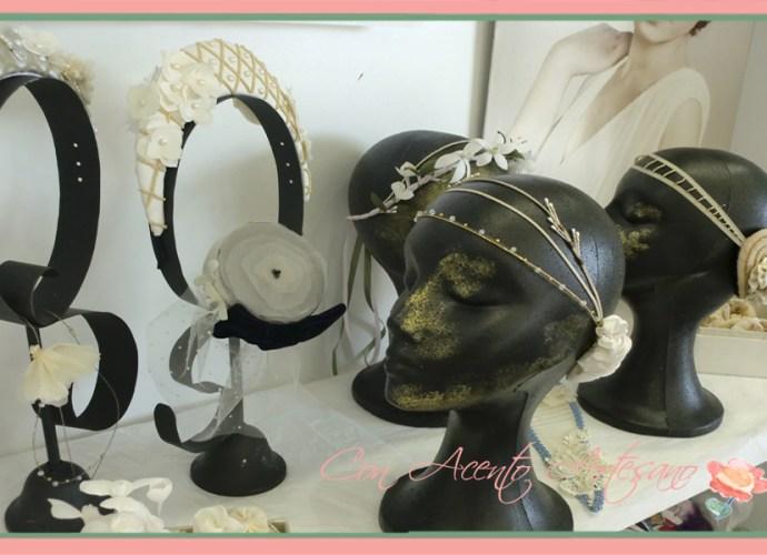 Caroline Bibis & Tocados en Showroom Fashion Cadiz de Arte