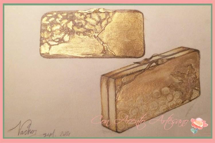 Boceto de bolso de mano Alma de Cartón