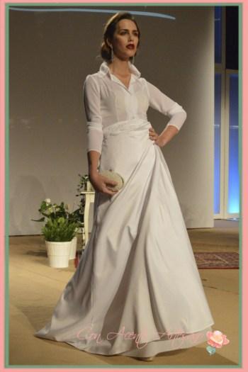 Camisa para vestido de novia de Felipe Duque en Sevilla de Boda 2014
