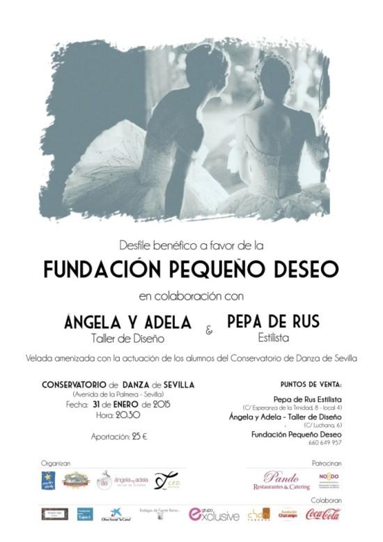 Cartel Gala Benéfica Fundación Pequeño Deseo
