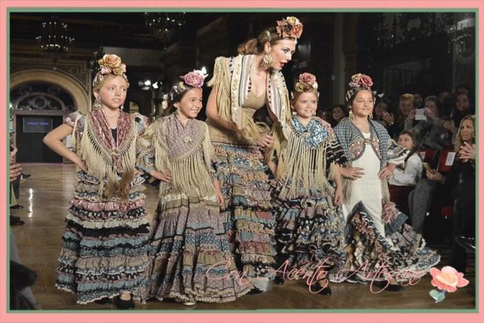 Damitas flamenca vestidas por Raquel Teran para We Love Flamenco 2015