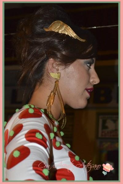 Complementos de Le Voilá para los trajes de flamenca de Sanchez Murube