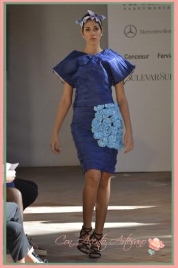 Vestido coleccion Efimera de Jose Peinado en Andalucia de Moda 2015